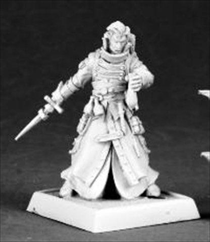 Pathfinder Miniature: Damiel, Iconic Alchemist