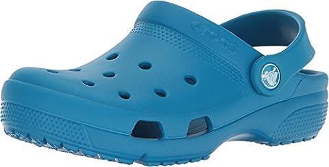 Crocs - Kids Coast Clogs, Size: 3 M US Little Kid, Color: Ultramarine - Blue Croc