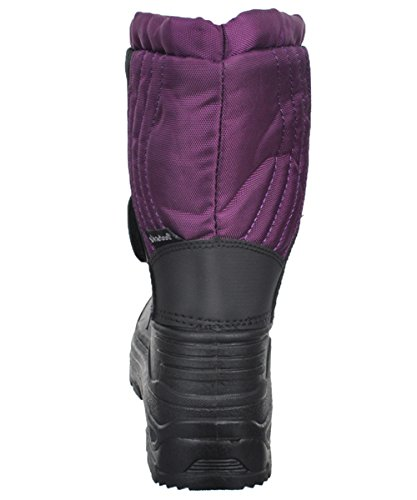 5 Youth 1317 SkaDoo Boys Snow Goer Boots Purple