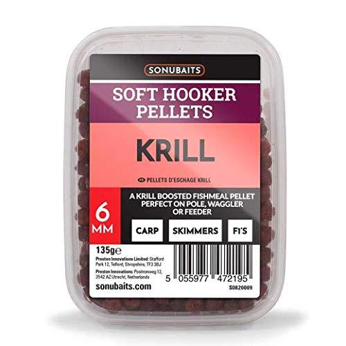 Preston Innovations Krill Soft Hooker Pellets 6mm