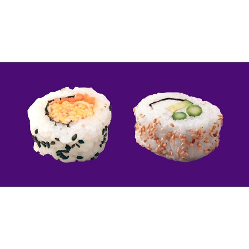 Spicy crab california combo sushi assortment iqf frozen for Frozen fish for sushi