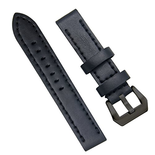 Genuine-Leather-Watch-Band-20mm-22mm-24mm-Leather-Watch-Strap-Top-Calf-Grain-Watch-Bands-for-Men