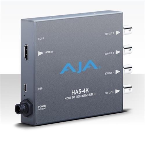 Aja Sdi Converter (AJA HA5-4K 4K HDMI to 4K SDI Mini-Converter)