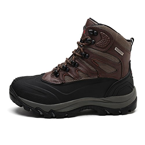 161202 Insulated Dk arctiv8 M Black Snow Work Waterproof Mens brown Boots Nortiv8 7Zq1aw6