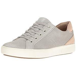 Naturalizer Women's Morrison Fashion Sneaker, Silver, 7.5 M US