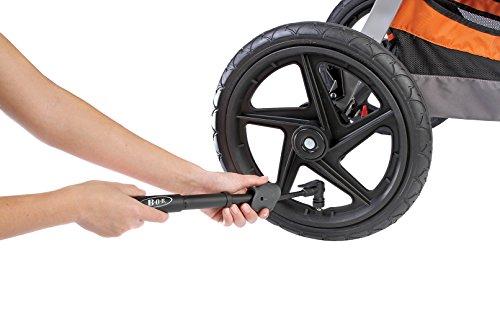 BOB Revolution Flex Jogging Stroller, Black