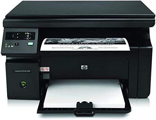 Renewed  HP LaserJet Pro M1136 Multifunction Monochrome Laser Printer  Black