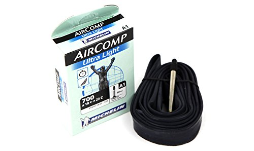 Michelin A1 Aircomp Ultra Light 60mm Presta Valve Bicycle Tube