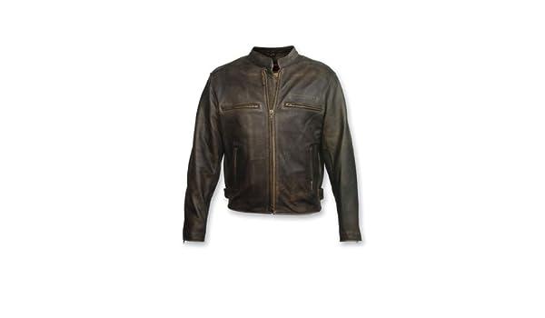Milwaukee Motorcycle Clothing Company Crazy Horse - Chaqueta para Hombre: Amazon.es: Coche y moto