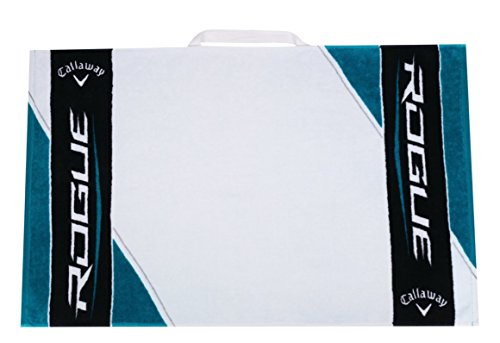 Callaway Golf Towel Rogue (30x20, Black/White