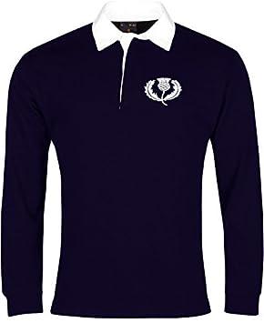 Old School Football Retro Escocia Nacional Camiseta de Rugby ...