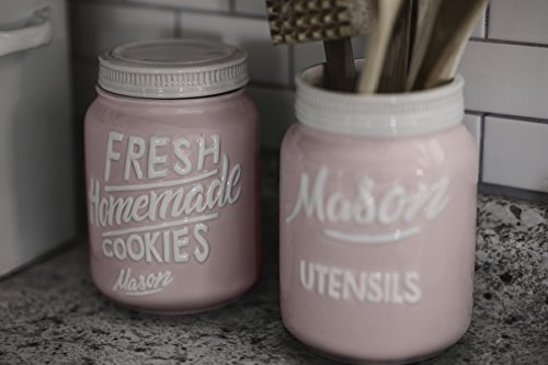 Buy pink utensil crock