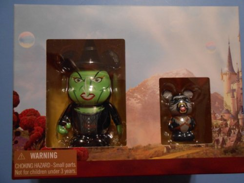 OZ The Great and Powerful Disney Vinylmation 3'' & Jr. Combo Pack Figure Wicked Witch & Baboon -