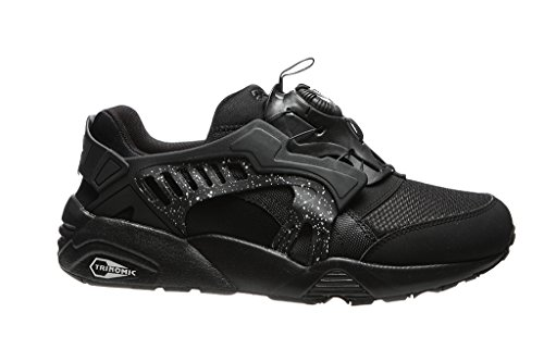 Blaze Sneakers Uomo Puma Nero Pelle Mesh nero Disc qEw4xX