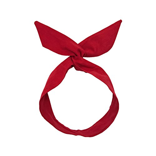Creaon Headband Cloth Knotted Sweet Stylish Style New Versatile Cross Bow Elastic Headwear Women Cloth Yoga Sport Shower Hairband Accessories