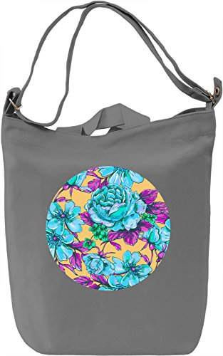 Pop Art Flowers Borsa Giornaliera Canvas Canvas Day Bag| 100% Premium Cotton Canvas| DTG Printing|