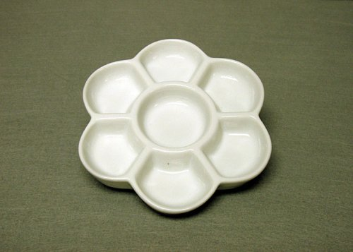 Small Porcelain Flower Plate (Chinese Plates)