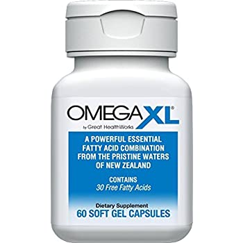 "Amazon.com: Omega XL Omega-3 ""Super Oil"" with 22 TIMES MORE Fatty Acids Than Fish Oil - 60 ..."