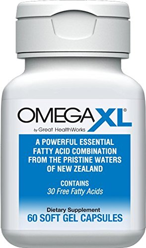 OmegaXL®, 60 count, all natural powerful omega-3 joint health supplement by OmegaXL