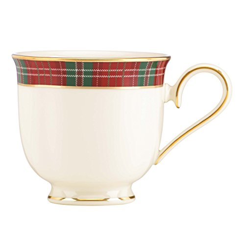 Lenox Winter Greetings Plaid Cup