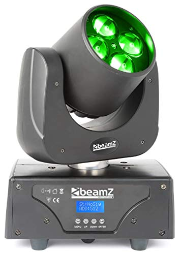 BeamZ Razor500 Negro – Accesorio de discoteca (Negro, LED, 4 lámpara(s), 15 W, 20 Colores, Sound activated)