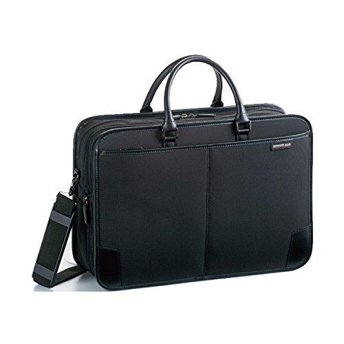 ジャーメインギア Y付兼用フチ巻き ビジネスバッグ メンズ 26574 ブラック バッグ ビジネスバッグ mirai1-519751-ak [並行輸入品] [簡易パッケージ品] B06Y1S3K2C