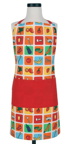 Handstand Kids Eat Your Fruits & Veggies Apron by Handstand Kids