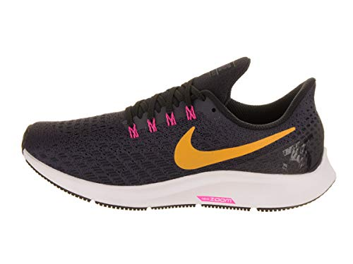 Zoom Pegasus 35 Black Multicolore Gridiron Laser Scarpe Pink NIKE Blast Orange Running 008 Donna Air qEt85