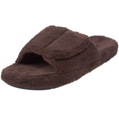 ACORN Men's Spa Slide, Chocolate, Medium/9-10 M US