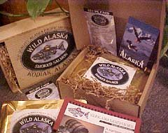 Brown Bear Sampler Pack (Six-1/2 pound fillets) (Salmon Smoked Keta)