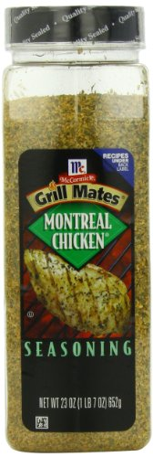 McCormick Grill Mates Seasoning, Montreal Chicken, 23-Ounce Container