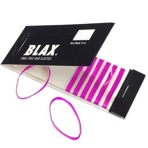 - 4mm PINK Hair Elastics 8 pcs by Blax by Blax