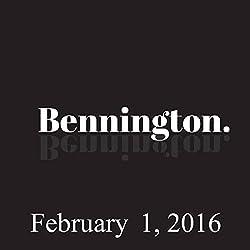 Bennington, February 1, 2016