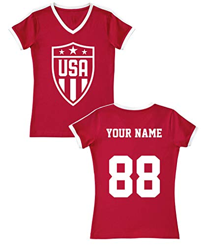 MXICAJSD Pulisic #10 2019//2020 New USA 4 Star Jersey Kids//Youths Home Soccer Jersey /& Shorts Color White
