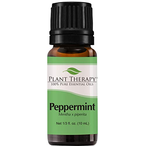 (Plant Therapy Peppermint Essential Oil. 100% Pure, Undiluted, Therapeutic Grade. 10 ml (1/3)