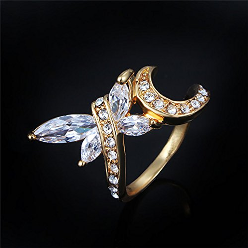 9ct gold dress rings - 3