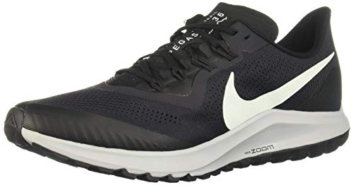 Nike Air Zoom Pegasus 36 Trail Men's Running Shoe Oil Grey/Barely Grey-Black-Wolf Grey Size 10.0