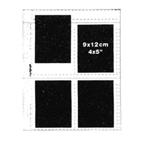 Matin Archival Slide Negative Clear Sheets Sleeves for 4x5'' / 9x12cm - 100pcs