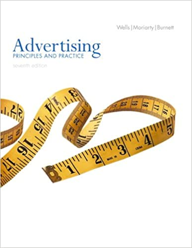 Official test bank to accompnay Advertising Principles And