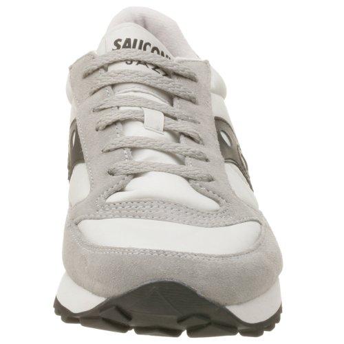 Saucony Originals Herren Jazz Original Sneaker Silber schwarz