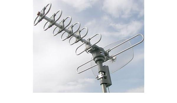 Quantum FX Ant 105U exterior Antena de TV digital (descontinuado por fabricante): Amazon.es: Electrónica