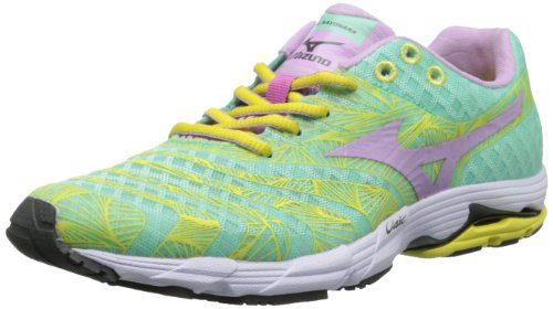 Mizuno Women's Wave Sayonara Running Shoe,Green,11 B US ()