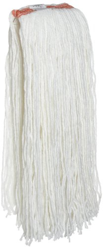 Rubbermaid Commercial Cut End Mop, 32 Ounce, FGF41900WH00 32 Ounce Rayon Mop