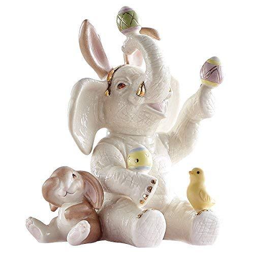 Lenox Elephant Egg Juggler Figurine