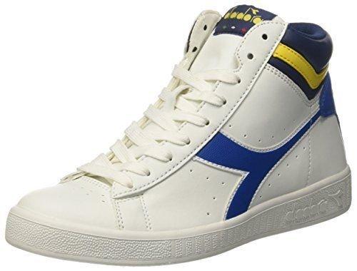 Schuh Diadora Game P High 160277C6486weiß blau Herren Damen Sport