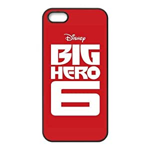 Big Hero 6 Design Solid Rubber Customized Cover Case for iPhone 5 5s 5s-linda421