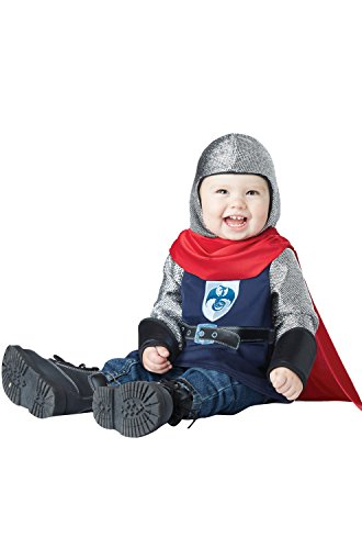 California Costumes Baby Boys' Lil' Knight Infant, Navy/Red, 18 to 24 (Toddler Prince Costumes)