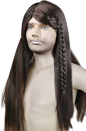 [Adult Brave Heart Wig] (Braveheart Fancy Dress Costume)