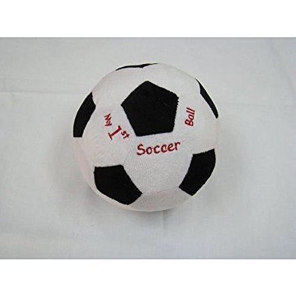Kelly Baby - My First Soccer Ball Chime Plush ()