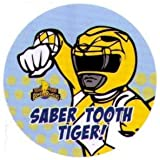 Might Morphin Power Rangers Saber Tooth Tiger 1.25 Inch Button